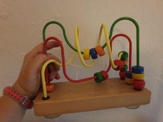 juguete/laberinto de madera