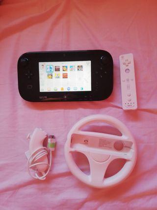 Wii U + SD + USB 64Gb