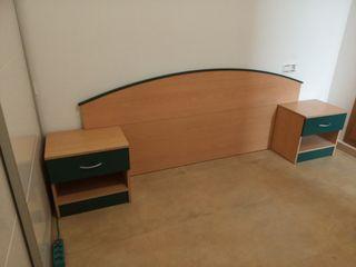 Conjunto dormitorio matrimonio.