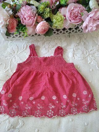 blusa vestido niña 18-24