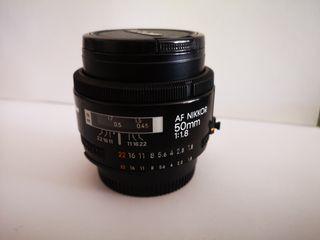objetivos Nikon Canon y Cosina