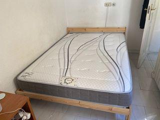 Vendo cama completa colchon y cama ikea