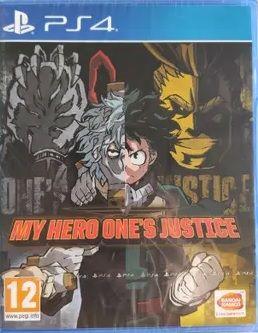 MY HERO ONE`S JUSTICE (PS4) Precintado