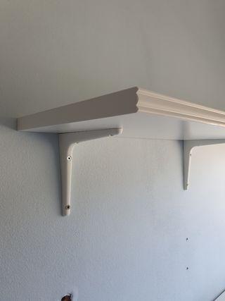 Estantería blanca Ikea