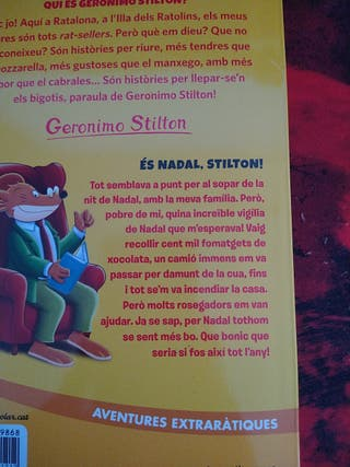 Geronimo Stilton, és Nadal Stilton!