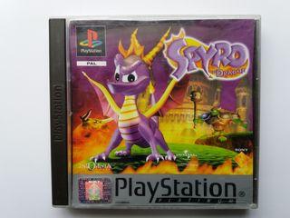 JUEGO SPYRO THE DRAGON. PLAYSTATION PS1. AÑO 1999.
