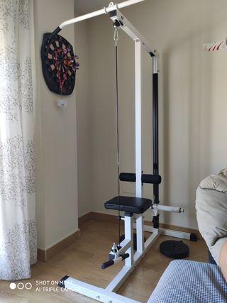 Máquina Musculación Polea Alta y Baja