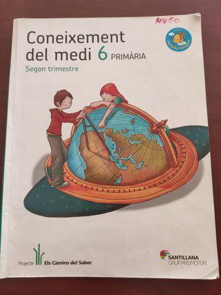 libro coneixement del medi 6 primaria