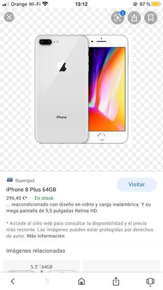 iPhone 8 Plus garantía