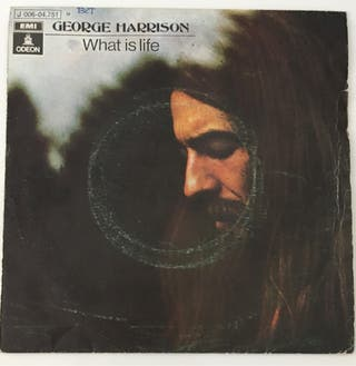 GEORGE HARRISON : What is life Disco Vinilo Single