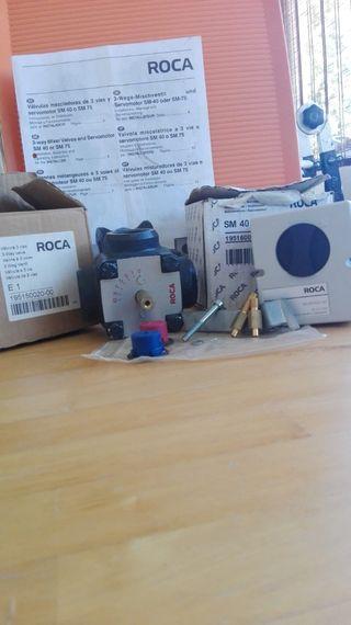 Valvula mezcladora ROCA 3 vias y servomotor