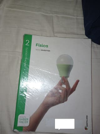 Libro física 2 bachillerato Santillana
