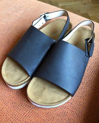Sandalias de Piel talla 38.