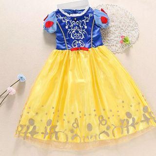 disfraz niña nuevo princesa talla 2 al 6 años