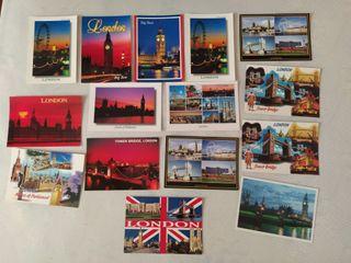 Postales Londres 3€
