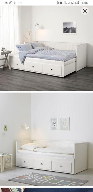 cama nido Ikea hemnes doble