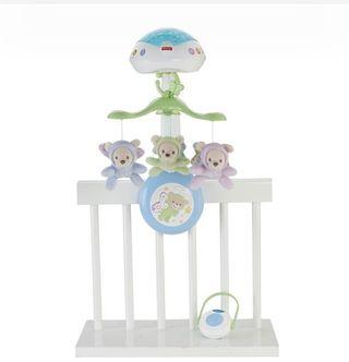 Lámpara musical para bebé