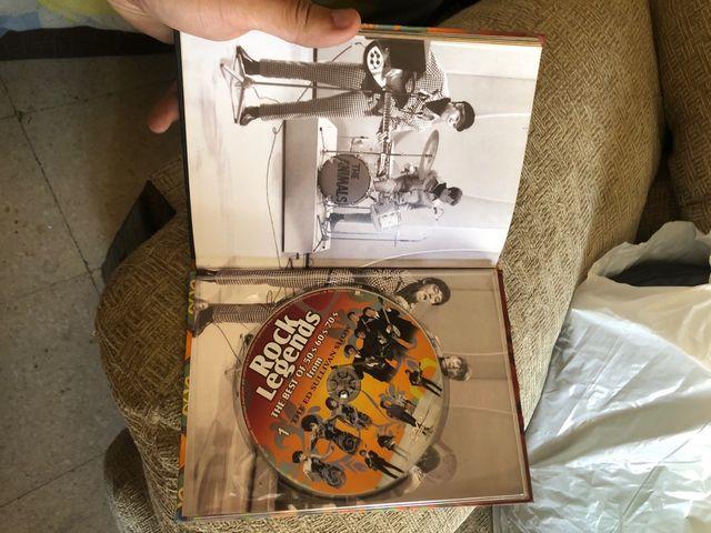 Colección rock Legends 50's 60's 70's