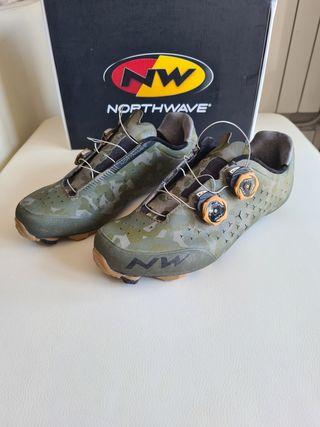 Zapatillas ciclismo Nortwave Rebel 2 Carbón