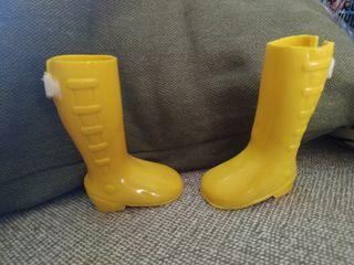 botas amarillas Nancy