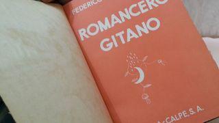 Libro Romancero Gitano. Año 1935. Buen estado.