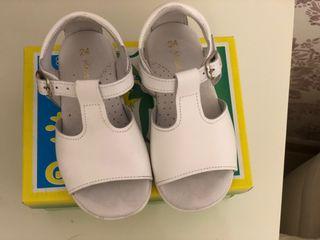 Zapatos niño n 24