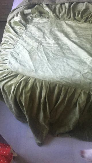Falda camilla rectangular