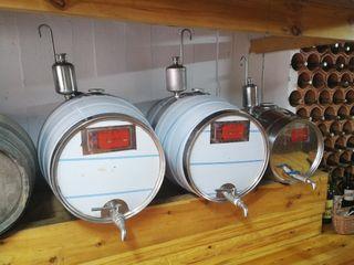 Barriles Vino Acero Inox (100 litros y 50 litros)