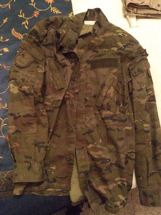 uniforme ejército de tierra pixel parte de arriba