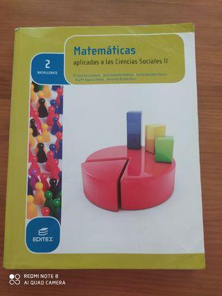 Matemáticas aplicadas a las ciencias sociales 2 ba