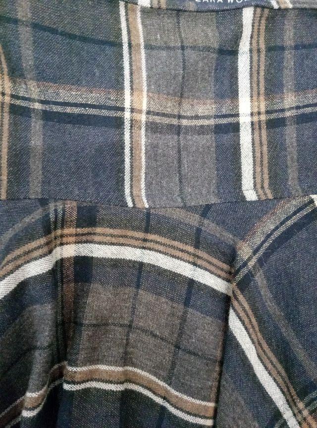 Falda Zara lana talla M