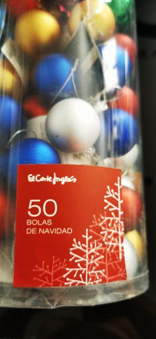 50 bolas de adornos de Navidad