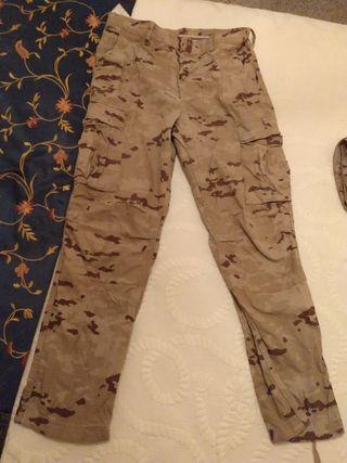pantalón árido Ejército tierra