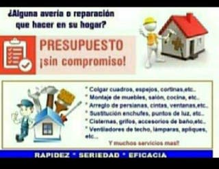 Reparaciones de hogar