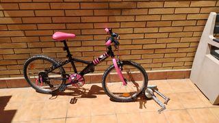 """Bicicleta Niña BTWIN 16"""" DECATHLON"""