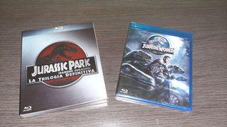 Pack Parque Jurásico blu-ray