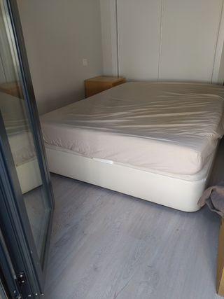 Canapé abatible tapizado polipiel de Ikea