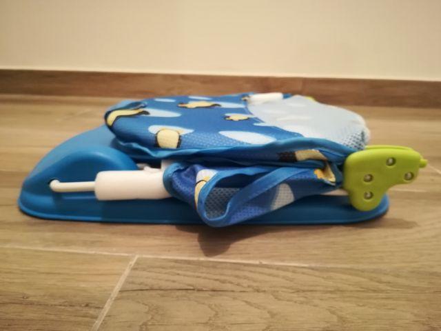 Hamaca de baño plegable para bebé
