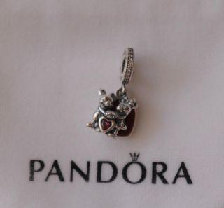 Charm Disney Pandora Minnie y Mickey con amor