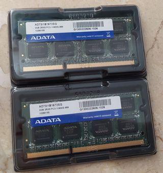 Memoria Ram DDR3 4Gb ADATA