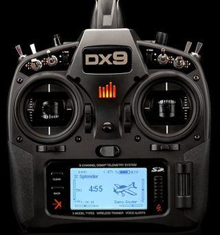 Radio spektrum dx9 black edition