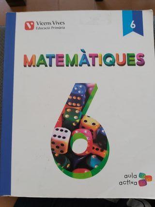 Matematiques 6 Aula activa