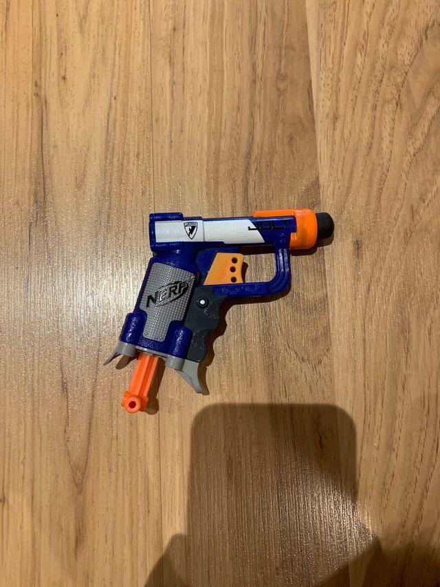 Pistola nerf de bolsillo