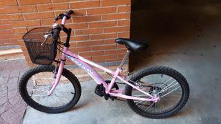 Bicicleta infantil, ruedas 20'