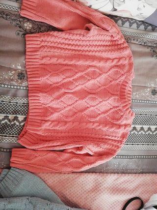 Jersey color salmón