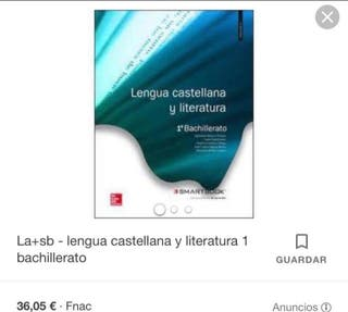 LIBRO DE 1 DE BACHILLERATO DE LENGUA Y LITERATURA
