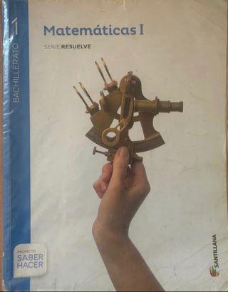 LIBRO DE 1 DE BACHILLERATO DE MATEMÁTICAS