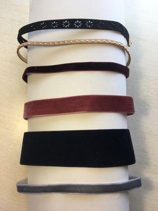 Kit collares (chokers)