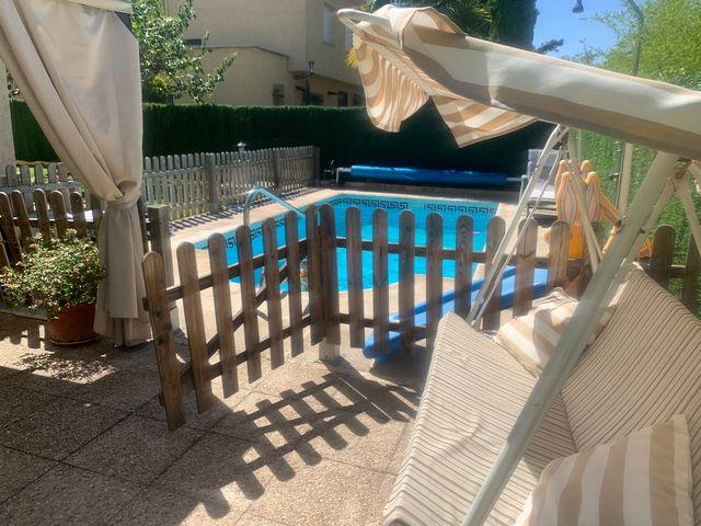 Valla para piscina
