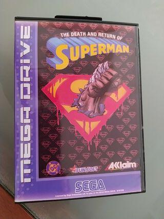 Juego Mega Drive Superman.